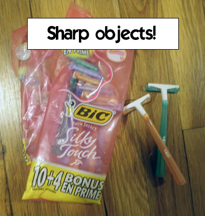Sharp objects!