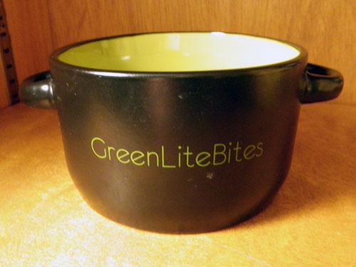 Green Lite Bites (ice cream) bowl