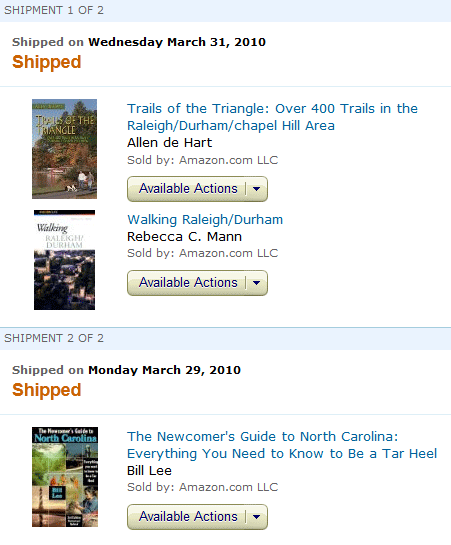 amazon how to look at archived orders