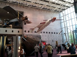 National Air and Space Museum: They provided the planes and I brought the baggage.