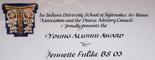 Indiana University School of Informatics Young Alumni Award