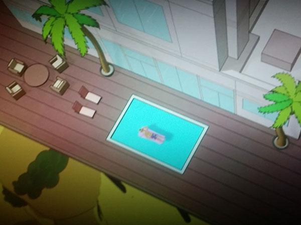 BoJack's magic swimming pool