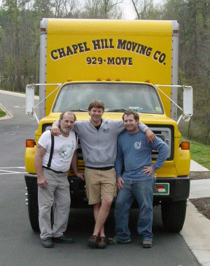 Chapel Hill Moving Company (Not my actual movers)