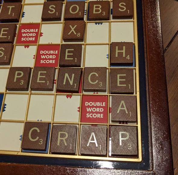 Post-election Scrabble