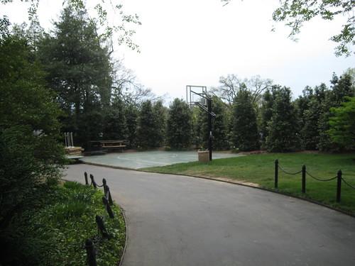 White House basketball court