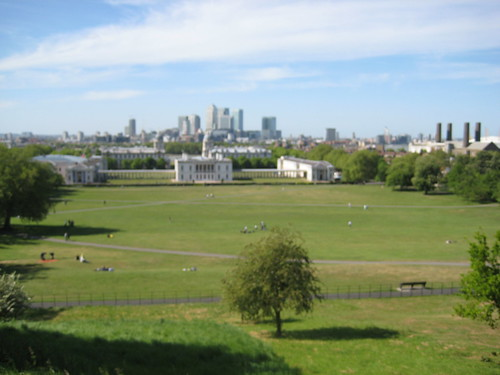 View from British Observatory
