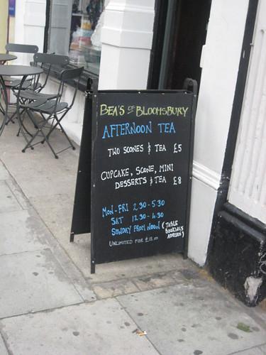 Tea! And sugar!
