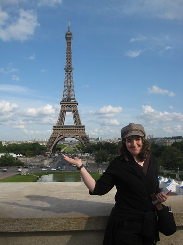 PastaQueen presents the Eiffel Tower