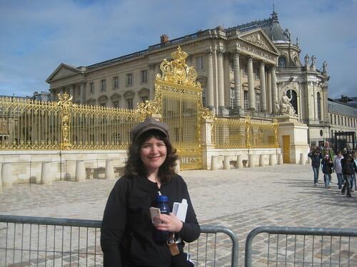 Jennette at Versailles