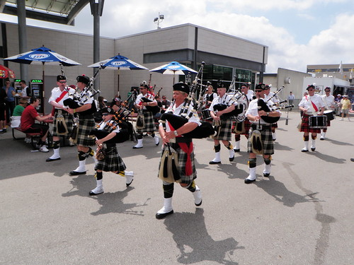 Indy 500 bagpipes