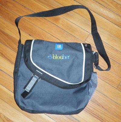 An actual swag bag