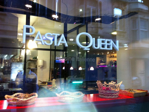 Pasta Queen in Brussels