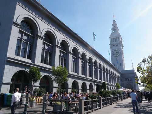 The ferry building. No ferry included.