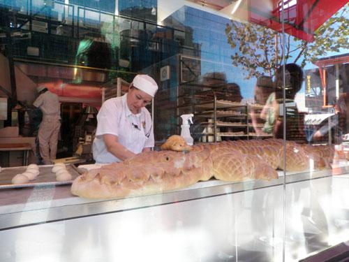 Crocodile bread