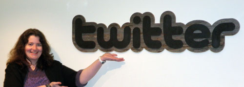 That's twitter!
