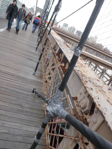 The New York Diaries Part 2 Brooklyn Bridge Is Held Together With Duct Tape