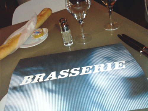 I still can't spell Brasserie without checking