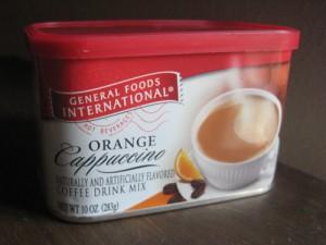Orange you glad you had Orange Cappuccino and/or Orange Café while it lasted?