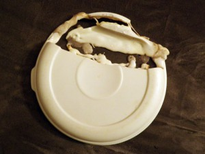 Melted tupperware