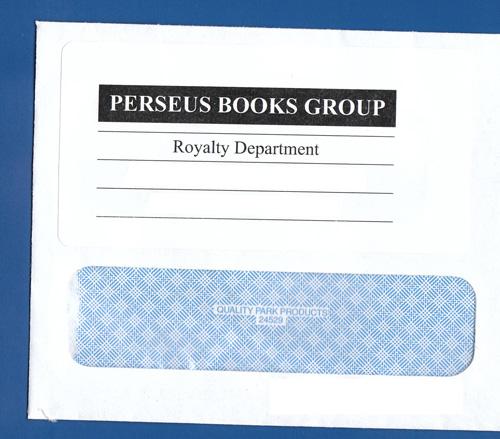 Royalty envelope