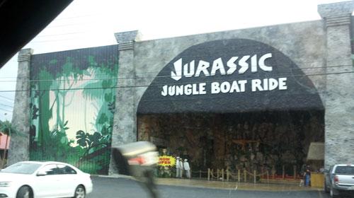 Jurassic Jungle boat ride