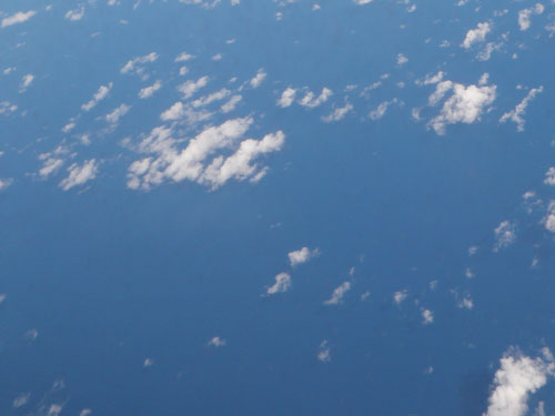 The sky or the ocean?