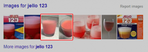 Google images for Jell-O 123