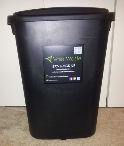 Valet Waste Can