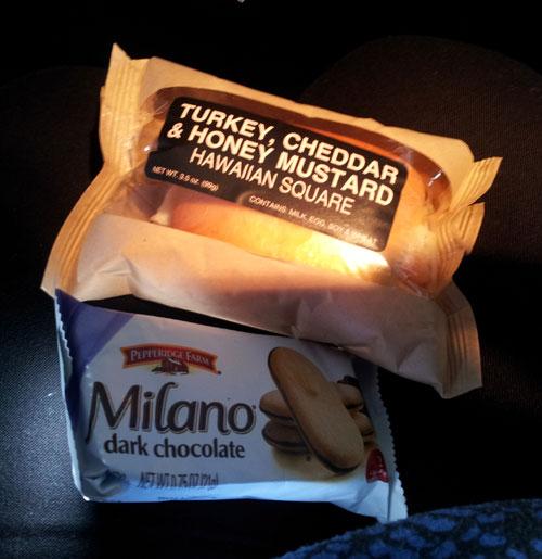 First class snacks