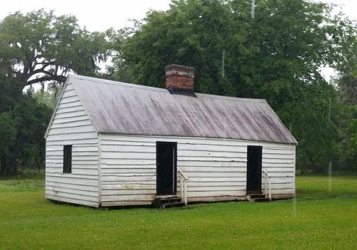 Slave quarters on Magnolia Plantation