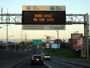 Road Rage - No One Wins