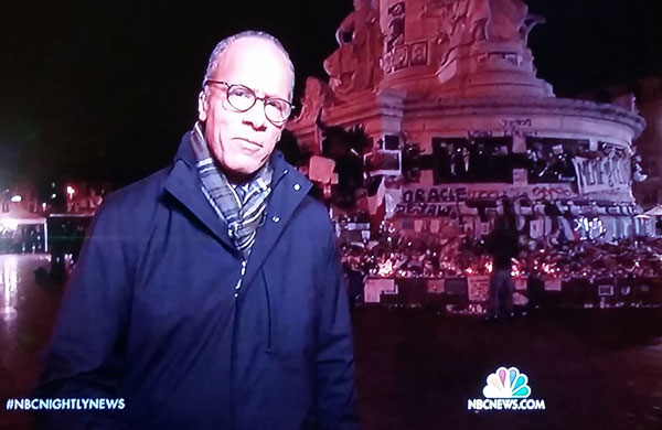 Lester Holt at Republique