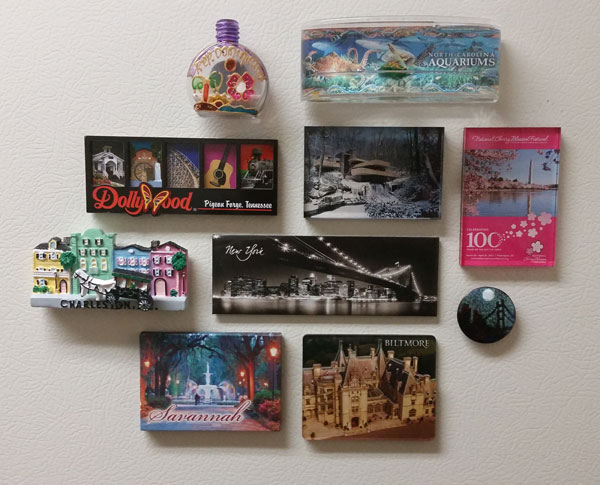Travel magnets