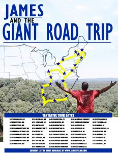 James and the Giant Road Trip