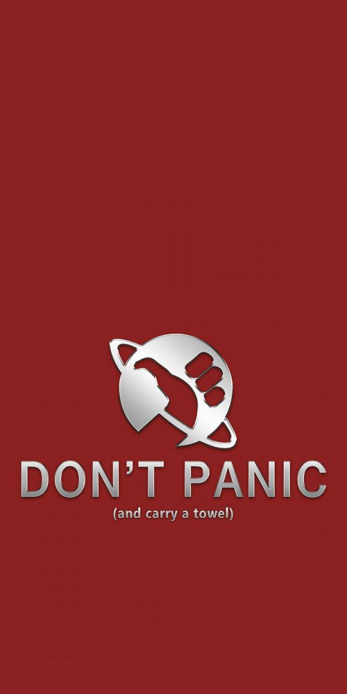 Don't Panic (and carry a towel)