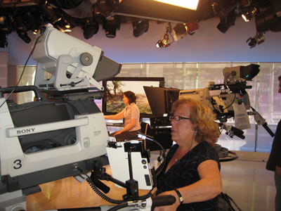A female camera operator. How cool!