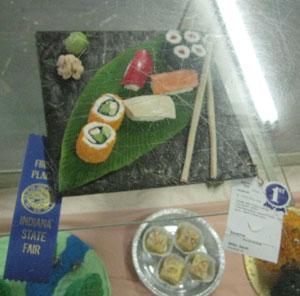 Sugary sushi