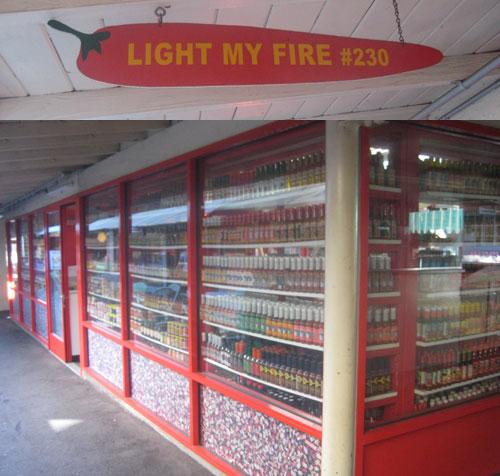 Light my Fire: The hot sauce store