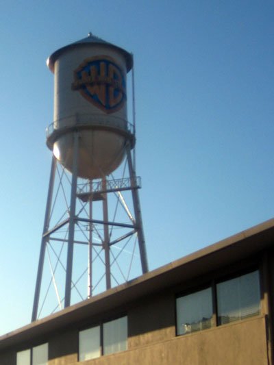 The WB water tower. No Animaniacs to be found