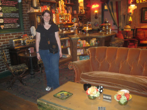 PastaQueen at the Central Perk